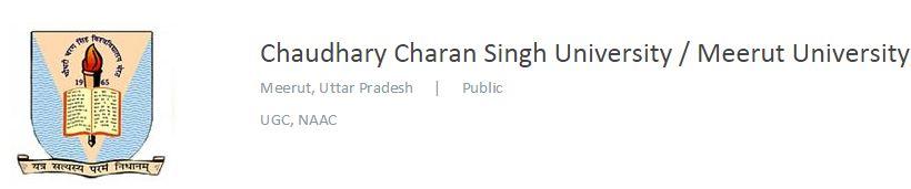 2015-02-13 01_39_20-Chaudhary Charan Singh University _ Meerut University, Meerut - Contact, Website